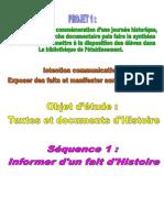 Séq.1-Informer D_1 Fait D_histoire