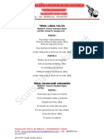 Cancioneros Claveles