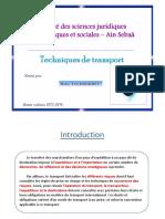 Techniques de Transport 2016 [Mode de Compatibilité]