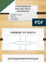 Barraje Tipo Malla. (1)