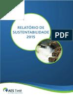 AES Tiete - Relatorio de Sustentabilidade 2015