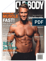 """Billy Jeffrey """"Muscle and Body"""" - June Cover"""