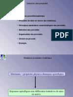 Matériaux vs Procédés
