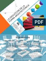 Deduccion de La Forma Arquitectonica (1)