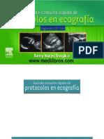 Gia de Cosulta Raida de Proocolos en Ecogafia 2da Edicion