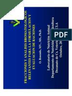 Fracciones y Análisis Bromatologicos