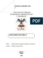 Desarrollo de La Guía Práctica Nro 2