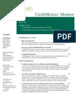 CreditMetrics (Monitor)