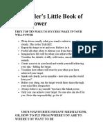 Uri Gellers Little Book of Mindpower