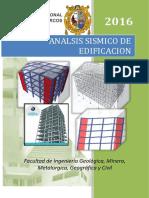 Analisis Estatico de Edificacion