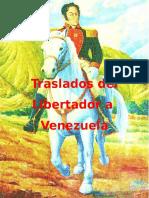 Restos de Simon Bolivar