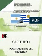 ESTUDIO DEL IMPACTO DE LAS NEGOCIACIONES ENTRE ARGENTINA Y URUGUAY