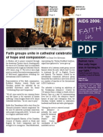 Aug 17 2006 Bullentin Ecumenical Advocacy Alliance Faith in Action