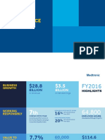 FY2016 Medtronic Integrated Performance Report