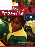 Keep the Promise A  teaching resource on advocacy