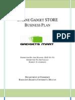 Online Gadget Store Plan