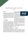 Introspective, Efficient Symmetries for Vacuum Tubes