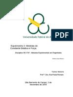 97028748 Relatorio Exp2 Medida de Forca Metodos Experimentais Em Engenharia Trim3 2