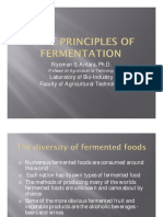 Basic Principles of Fermentation