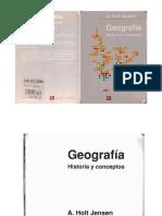 Holt Jensen Arild - Geografia, Historia y Conceptos