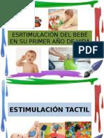 Esrtimulacion Del Bebé en Su Primer Año de Vida