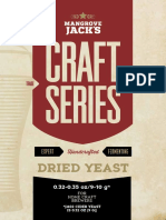 Mangrove Jack's BREWER'S YEASTS FOR CRAFT BREWING