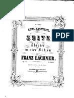 Franz Lachner Suite Op142
