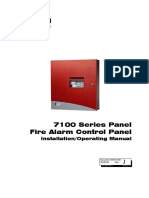 FCI 7100 Installation Operating Manual