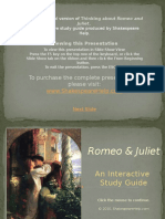 Romeo and Juliet PowerPoint Presentation Preview (2)