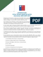 Introducción Ficha Técnica Base de Datos Atenciones