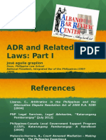 ADR and Related Laws Part 1 - Introduction and Labor