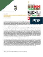 A Diversidade Linguística Africana e Suas Heranças Na Formação Do Português No Brasil