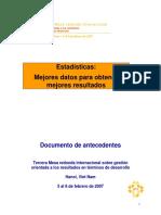 28. Monterrey Statistics-Spanish