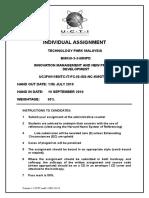 NPD  AssignmentCover.doc