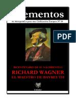 Varios - Elementos 50 - Richard Wagner El Maestro de Bayreuth