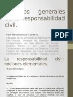 Aspectos Generales de La Responsabilidad Civil