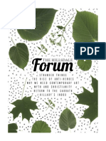 The Hillsdale Forum October 2016