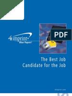 Best Job Candidate Blue Paper