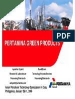 Pertamina Green Products