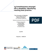 Beer Etal Homelessness and Disability FINAL REPORT 2 2