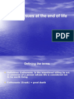 4. Ethics - End of Life