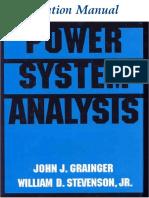 Solutions Manual for Power System Analysis - John J. Grainger & William D. Stevenson, Jr