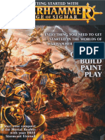 Getting Started With Age o Sigmar