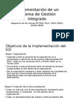 Implementación de Un Sistema de Gestión Integrado