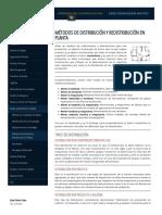 Métodos de Distribución y Redistribución en Planta - Ingeniería Industrial