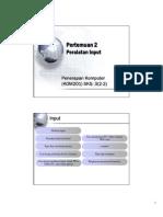 Pertemuan 2-Input&Output PPT