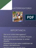 CONTRA INTERROGATORIO.ppt