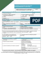 (Archivo 7. PDF) Formato Reporte Efectos Adversos en Reactivovigilancia