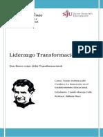 LIderazgo Transformacional, Don Bosco Como Líder Transformacional