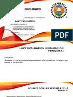 Lazy Evaluation e7